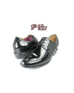 """TX9226, Elevated formal tux dress shoes-3.0"""" taller"""
