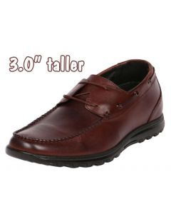 """Combination Semi Tall Mens JOTA's Boat Brown Shoes 3"""", CYC30BR"""