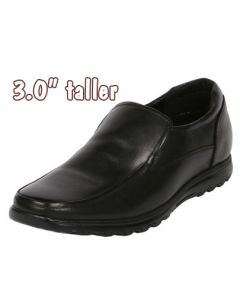 """Men's Combination Shoes 3"""" Height Elevation Semi Dress & Casual, CYC89BL"""