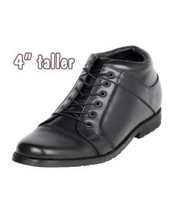 """Tall Men's Security & Guard High Quality Shoes To Make Height 4"""" Taller"""