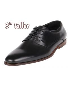 """Men's Novel Slim Tall Shoes for Increasing Height, 3"""" CYD48NBL"""