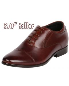 """Brown Cap Toe for Height 3"""" & Comfort with JOTA's innovative Grand, CYD59BR"""