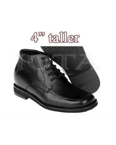 """Height Elevator Boots -4"""" taller zipper , Hovet"""