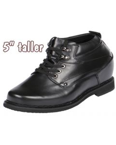 """Giant 5"""" Height Increasing Short Men Boot Undetectable, GKB11"""