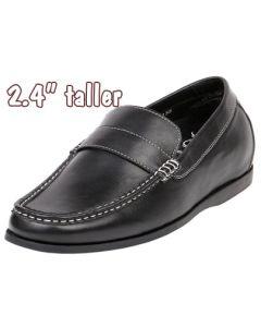 """Jota Men's Height Increasing Penny Loafer 2.4"""" Taller GKC51"""