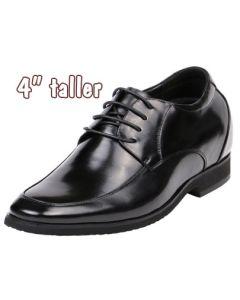 """Height Tall Men Increasing Dress Shoes, Gardera-4"""" taller"""