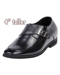 "Height Elevator Shoes 4"" Helig Buckle"