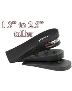"""IN3, EZ Heel Lifts, Air cushion stackable height kits, 2.5"""" Tall"""