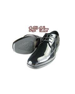"JTX018, Wedding shoes to look taller, 3.25"" height"
