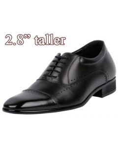 """JW505 Wide Feet Shoe Suiting Up For Dress, Work and Formal 2.8"""" Tall"""
