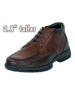 """Men's Great Outdoor Height Raising Boot 2.8"""" Taller Brown, JW516BR"""