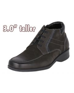 Height Improve & Make Tall By 3 Inch For Mens Suede Leather Boot, JWB517