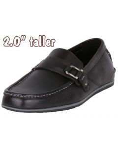 """Exalt Men Height Sharp In Loafer Style 2"""" Tall Shoes By Jota, JWC507BL"""