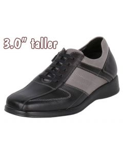 """Jota Casual Leather Driving Bicycle Design Shoe, 3"""" Tall JWC513"""