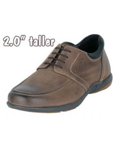"""Giving You Extra 2"""" Height Comfort & Functionality In Shoes JWC514BR"""