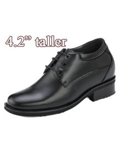 4.2 Inch Height Increasing Plain Toe Derby Innovation Men Shoes KN41