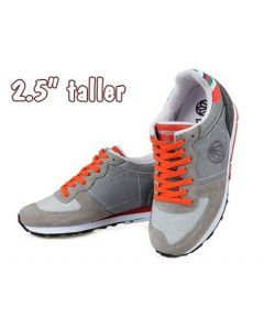 """KP143, Women Hidden Height Increasing Athletic Fashions Sneakers, 2.5"""" Tall"""