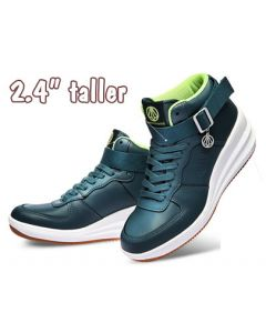 """KP334NA, Girl Height Increasing Tall Shoes 2.4"""" Look Taller"""