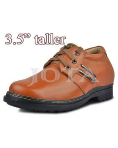 "3.5"" Height plain elevator tall shoes-KT26D"