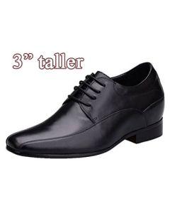 """KX01, Men Taller High Heels, 3"""" Height"""