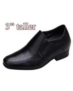 "KX03, Height heels for men, 2.8"" Taller"