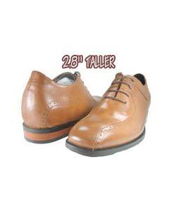 """JD098, Heel lift shoes-2.8"""" taller height, Roch"""