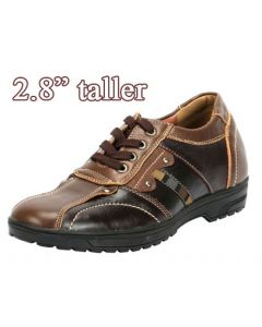 """NC364, Men bicycle elevator shoes to make height, 2.8"""" taller, SKC-80"""