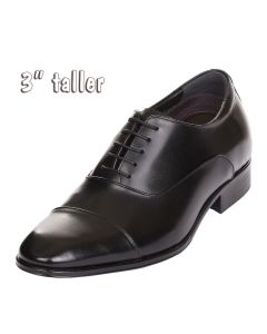 """Houston, Magnolia City's Tall Mens 3"""" Height Increasing Elevator Shoes, RJW503N"""