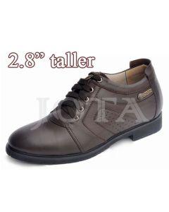 "SKC05, Men's Plain Semi Dress & Casual, 2.8"" Elevator Shoes"