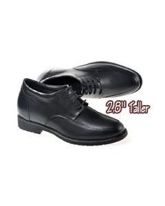 """SKD09, Apron Rounded Dress Shoes, 2.8"""" Height Increasing"""