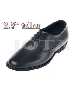 """SKD13, Plain Toe Dress Shoes, 2.8"""" Height Increasing"""