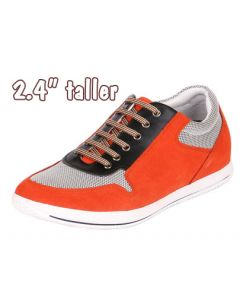 Men's Sneakers for Height, 2.4 Inch (6 cm) Taller, TC6032-R