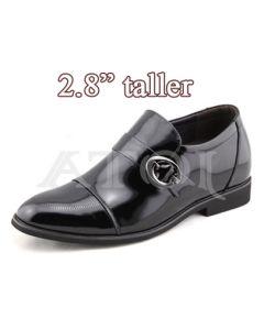 """TDX38, Elevator Shoes Tuxedo-2.8"""" Height"""