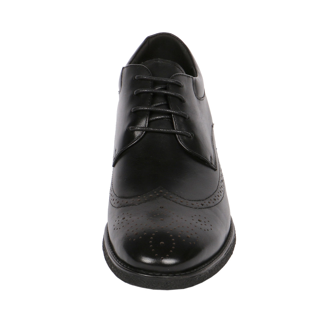 Handsome Leather Shapes a Punching Wingtip with Height Elevation, CYD21
