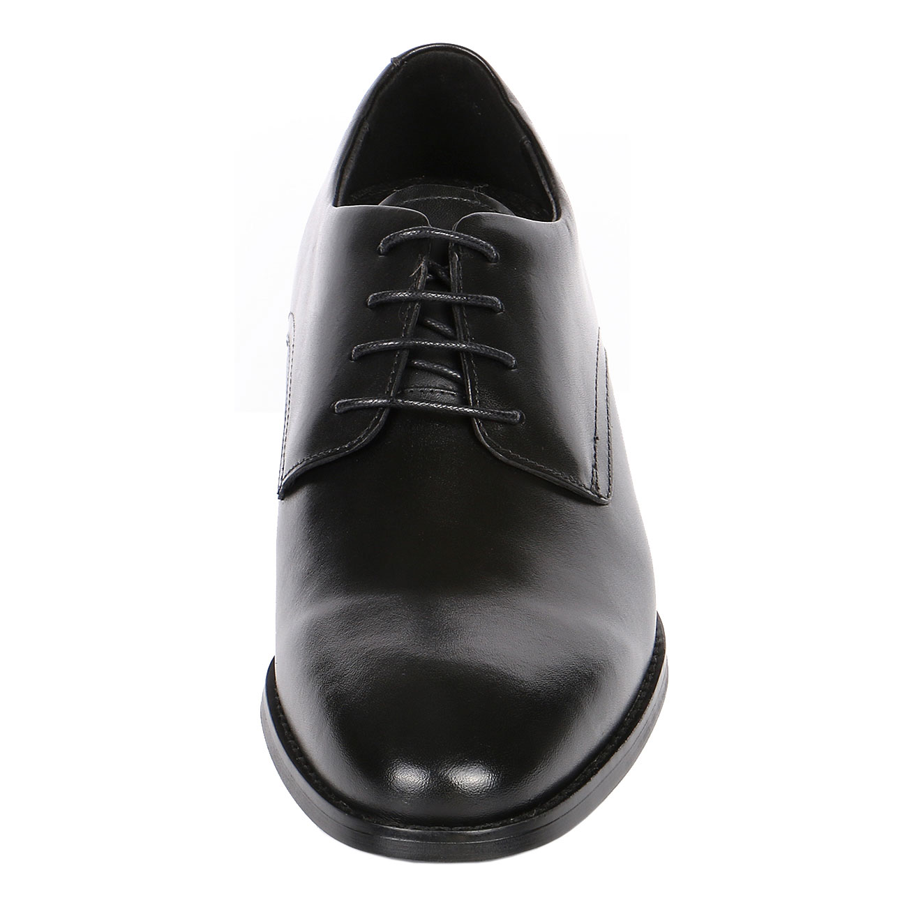 Sleek With Classic Black Plain Leather By 3