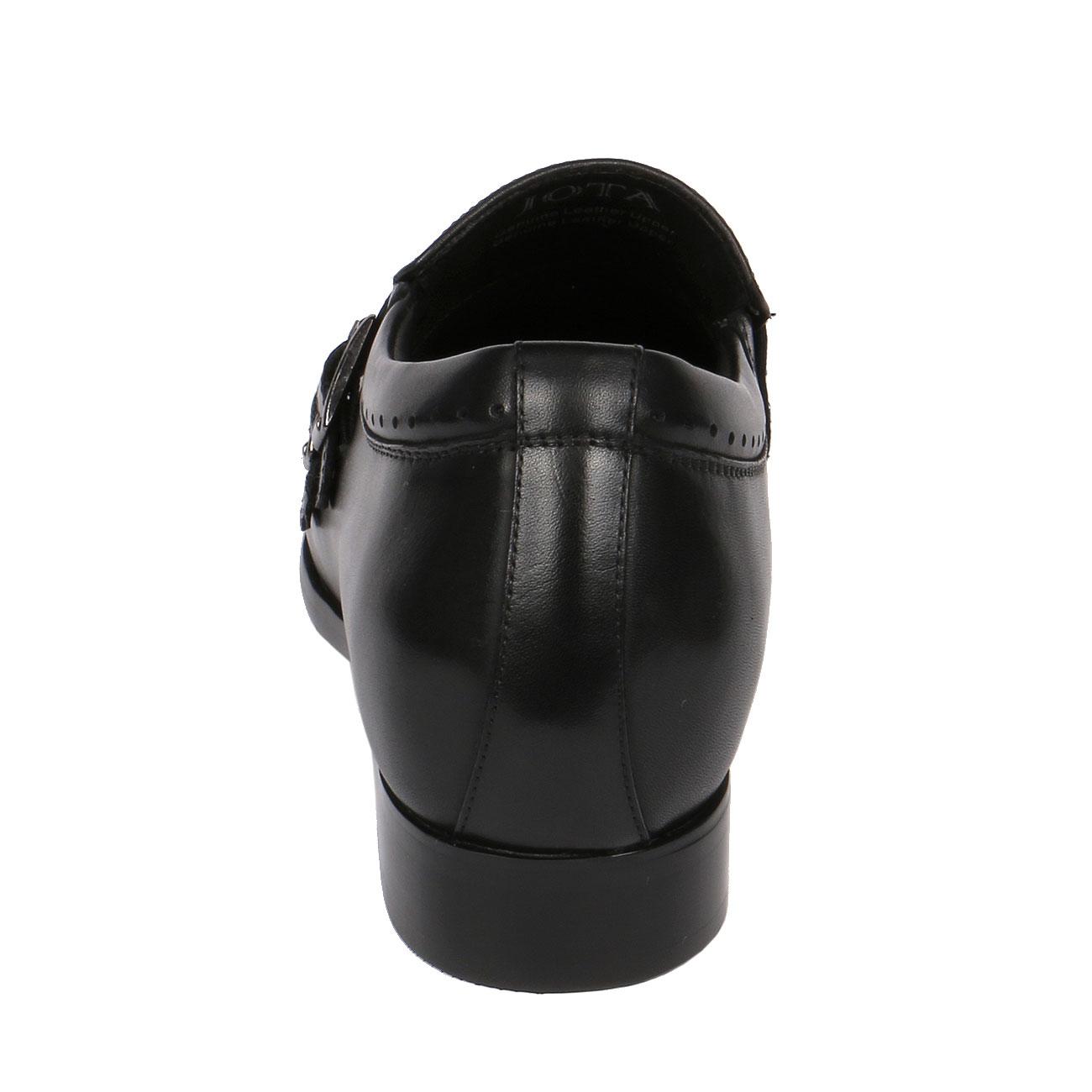 Men's Regal High Heel Leather Monk Strap Dress Shoe 2.8