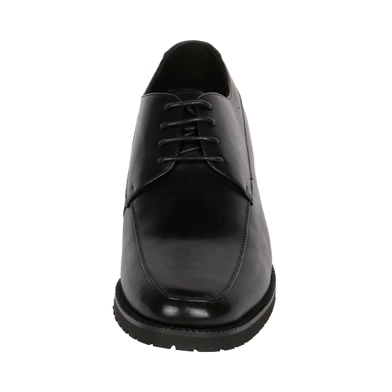 Apron Toe Derby Men Inserted Hidden Shoe Lift 3