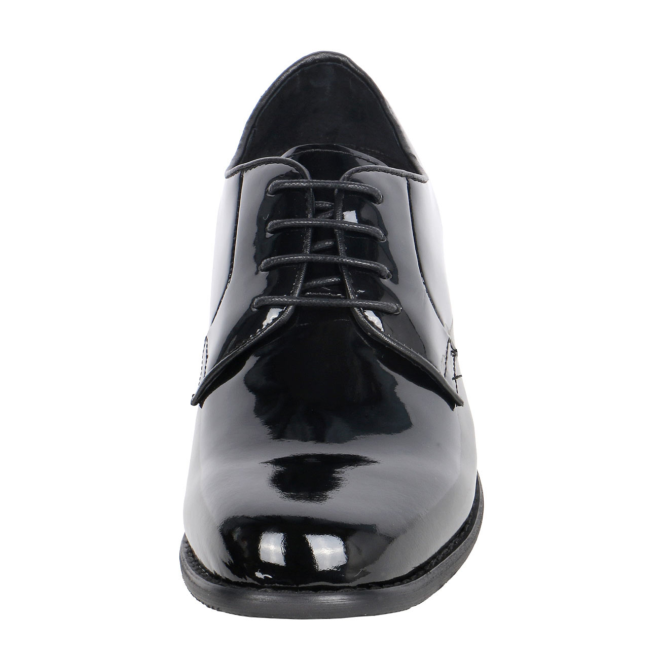 High Gloss Men's Uniform Dress Height Increasing Shoes CYT09