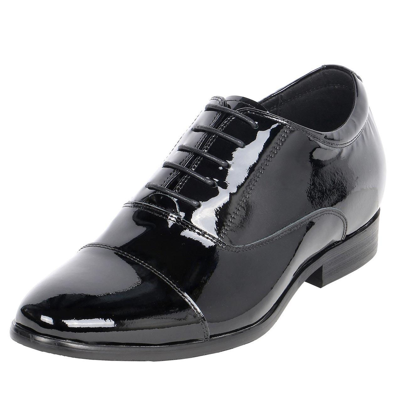Patent Leather Built Up Formal Gentlemen Shoe 3
