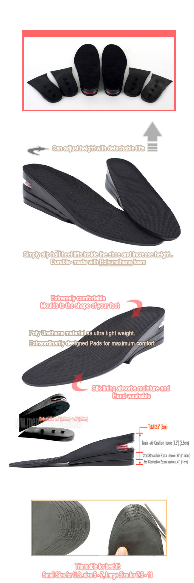 Insoles for Height
