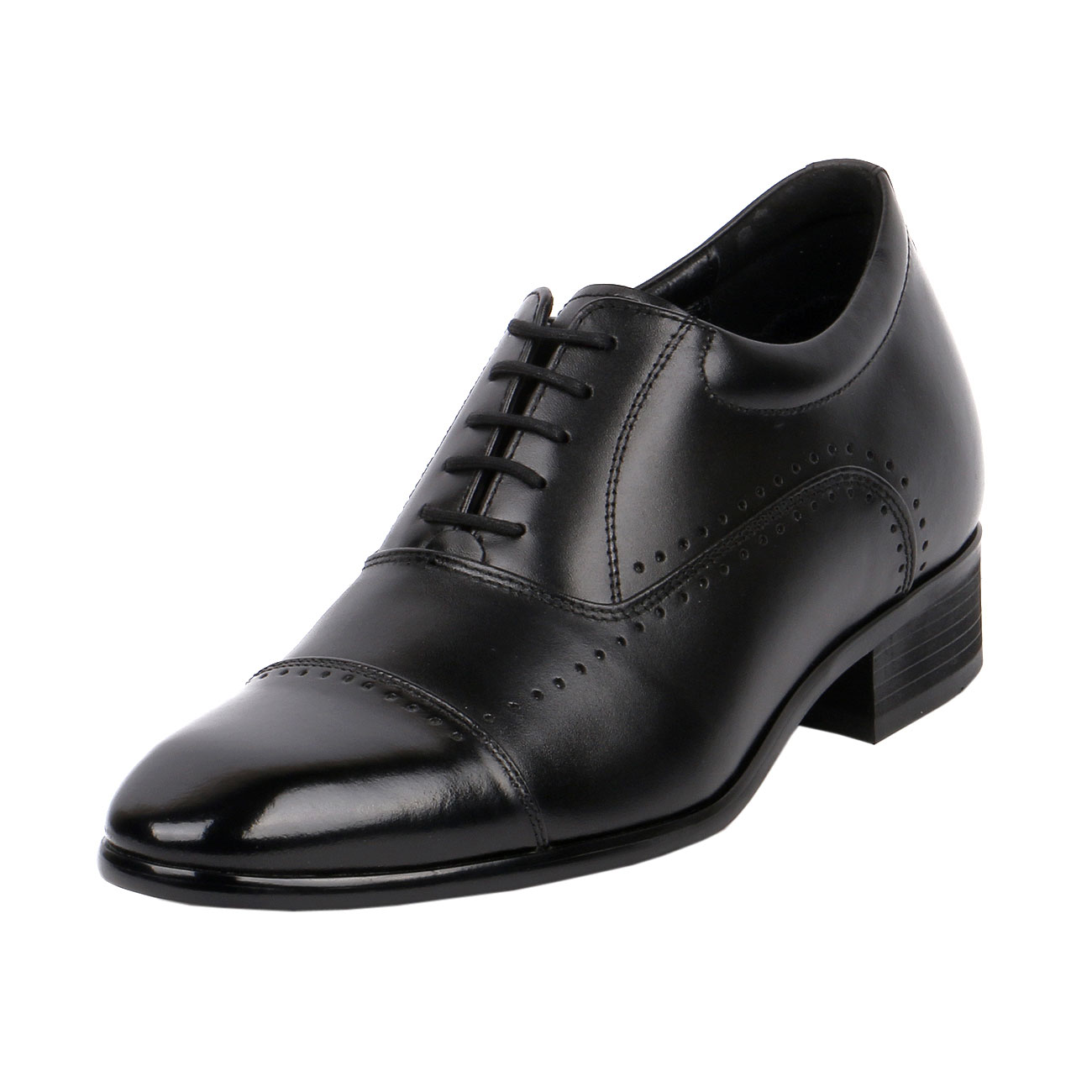 JW505 Limited Version Classic Cap-Toe Oxford Shoe Suiting Up For A Board Meeting or A Formal Event-1