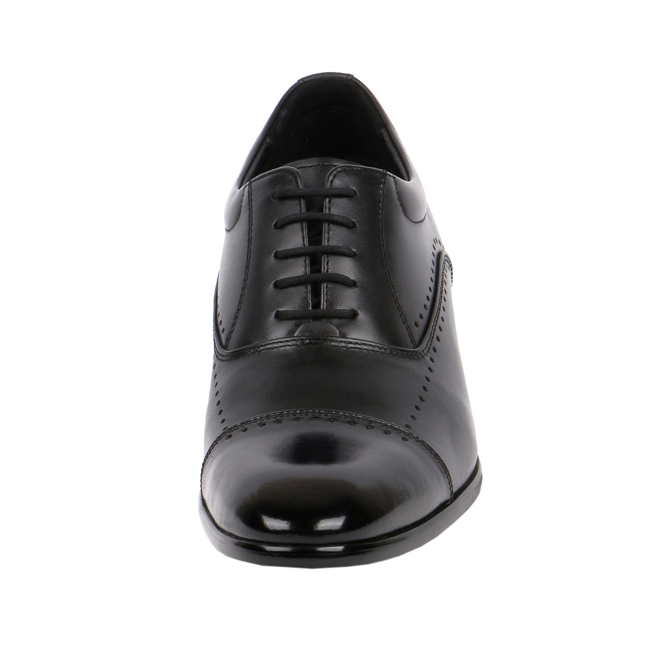 JW505 Limited Version Classic Cap-Toe Oxford Shoe Suiting Up For A Board Meeting or A Formal Event-2