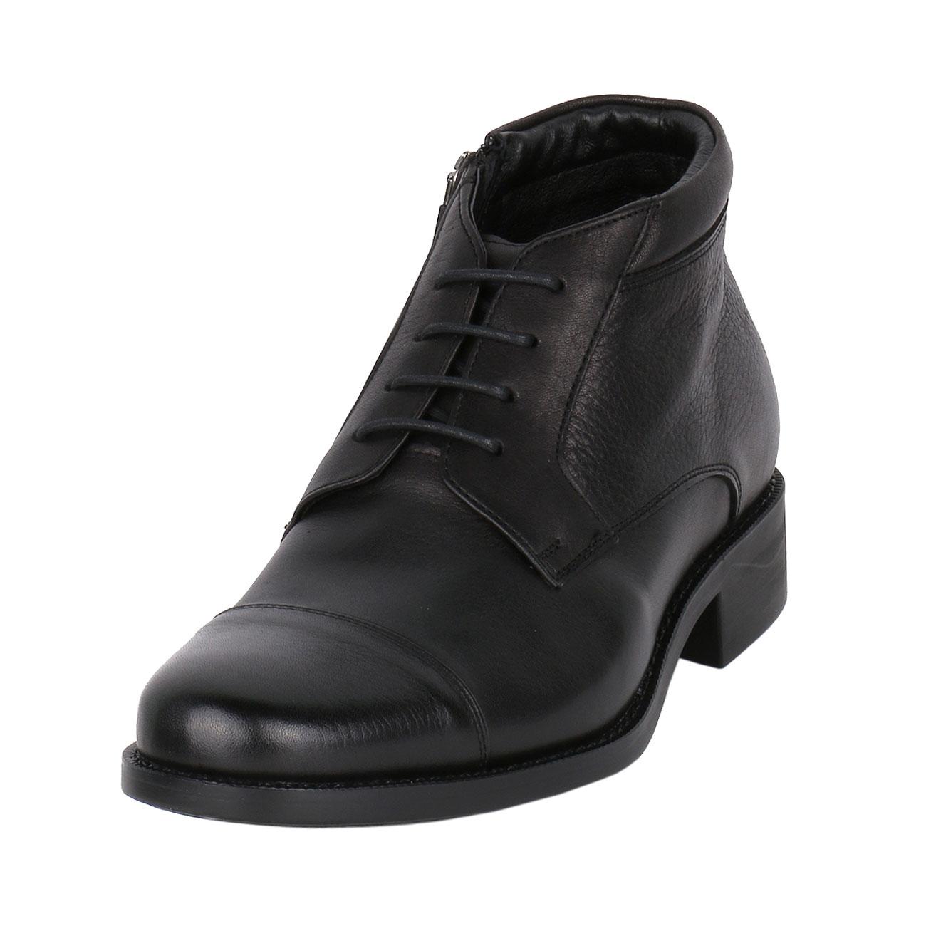 Height Enhancing Men's Leather Chukka Semi Dress Boot