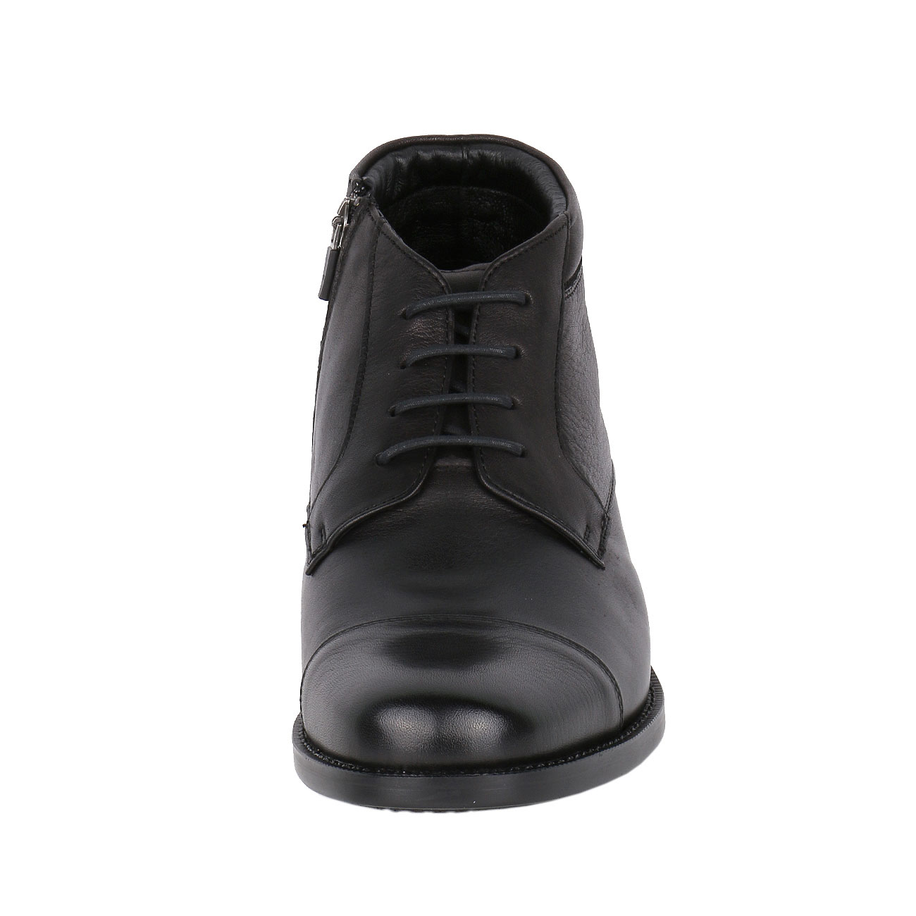 Height Enhancing Men's Leather Chukka Semi Dress Boot