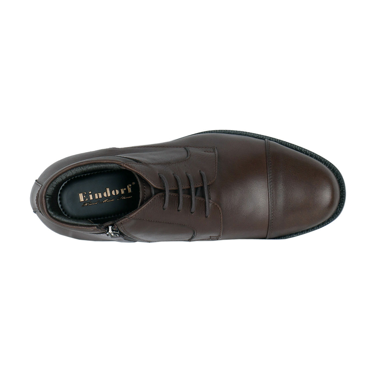 Men's Leather Chukka Semi Dress Boot to Height Enhancing