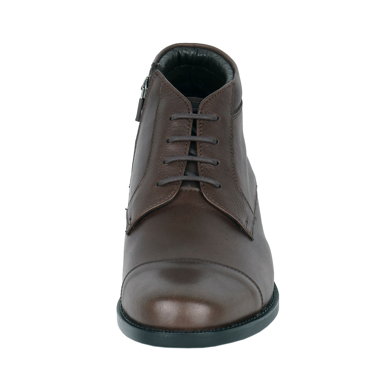 Men's Leather Chukka Semi Dress Boot to Height Enhancing
