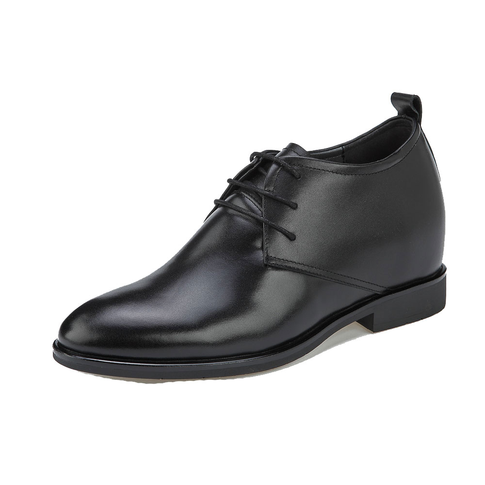 KN21, Plain Toe Derby Semi Gloss Height Increasing Pioneer-1