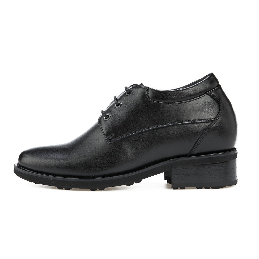 KN41, Plain Toe Derby Semi Gloss Shoes Height Increasing Innovation-2