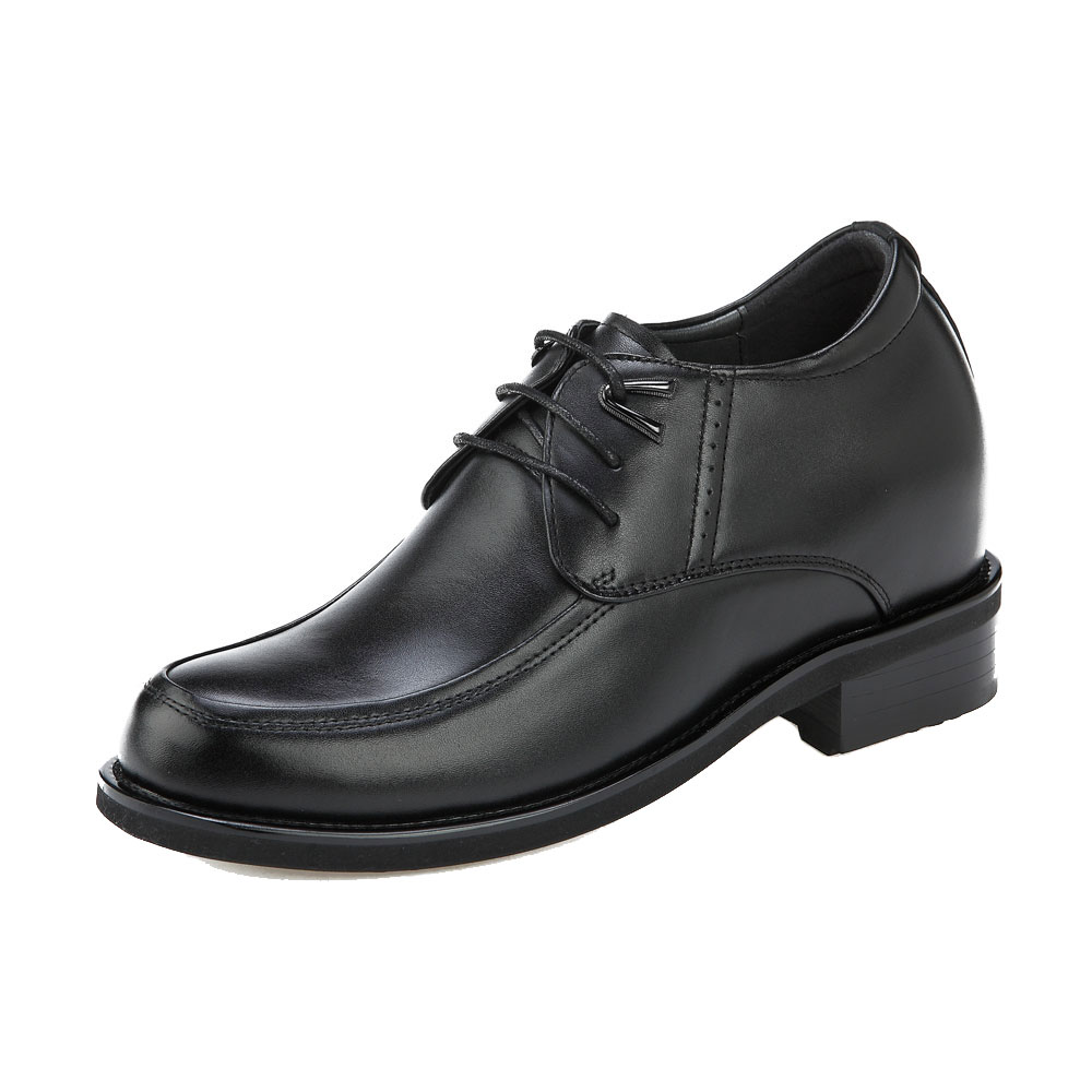 KN71, 4 Inch Elevator Business Shoes Gentlemen's Choice, Semi Gloss-1