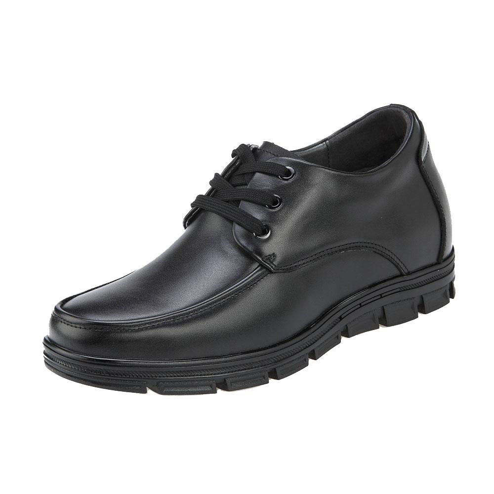 KNC52, Comfortable Elevator Apron Derby Mens Walk Shoes Series, 3